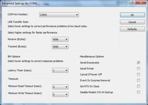 Reducing arduino ftdi ft r serial latency减少arduino