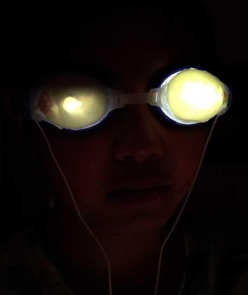 goggleshead